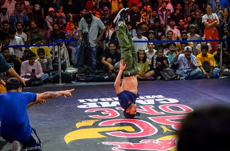 India's First Red Bull BC One World Final 2019 Held at Dome NSCI