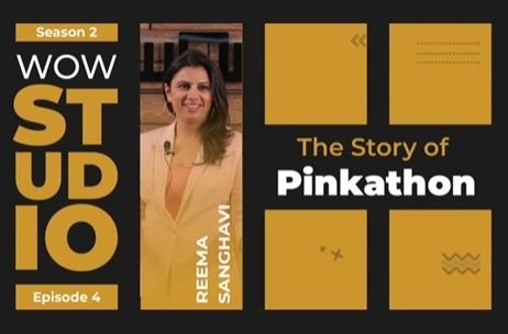 WOW Journeys Studio: Story of Pinkathon By Reema Sanghavi Out Now!