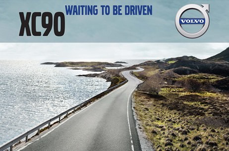 'Volvo XC90 - Waiting to be Driven': an experiential project by Marketing Solutions