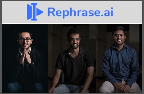 Synthetic Media Production Platform Rephrase.ai Enables Brands to Create Customized Video Content