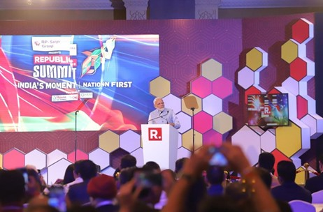 Geometry Encompass Manages the Republic Summit 2019 at New Delhi