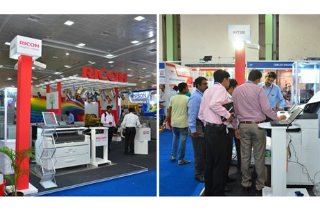 Ricoh Showcases at the Chennai Edition of PrintExpo'16; Appoints Vibgyor For Execution