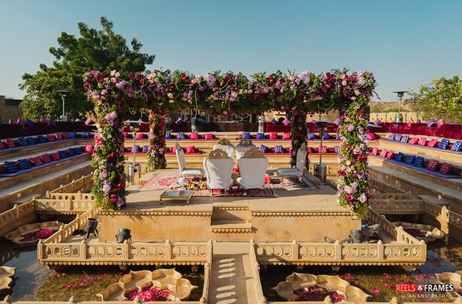 Perfexion Events Leaves no Stone Unturned to Execute a Royal Wedding at Jaisalmer