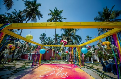 Horizon WIE Plans and Executes a Celebrations Across India Themed Wedding At The Leela Kovalam