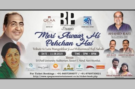 RP Square Entertainment Organises A Musical Night 'Meri Awaaz Hi Pehchan Hai'