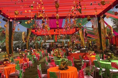 Despite Heavy Rains & Storm, Q Events Delivers One of the Biggest Weddings Bangalore Has Ever Seen