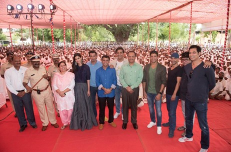 Movie Promotion in a Prison: Robust Events Executes 'Lucknow Central' Song Launch at Yerwada Jail