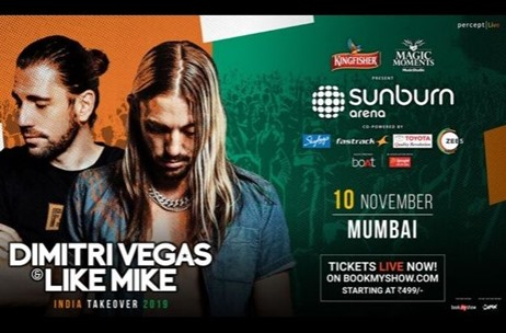 DJ Duo Dimitri Vegas & Like Mike Announces India Tour With Sunburn Arena 2019