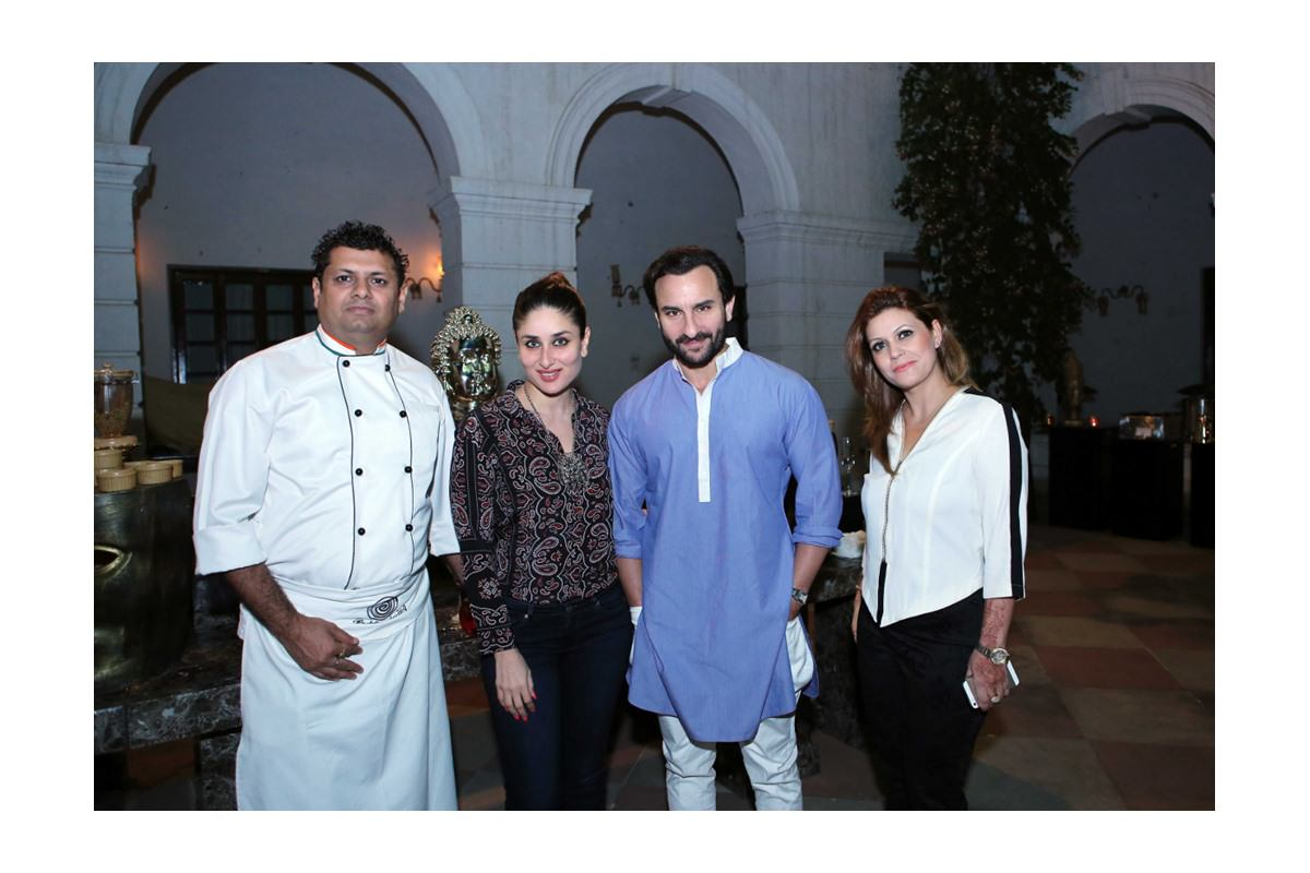 Saif–Kareena's second anniversary sees rich flavours of Awadh by Tandoori Nights