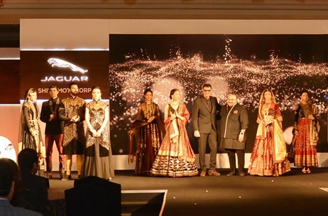 Percept ICE Produces Jaguar Land Rover Showroom Launch with a JJ Valaya Fashion Show