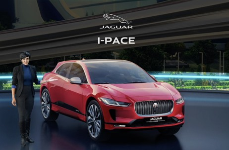 Transhuman Collective and Seventy EMG Produce All-Electric Jaguar I-PACE India Launch