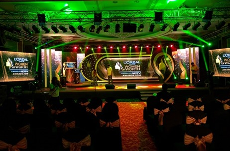 NDTV L'Oréal Paris Women Of Worth Awards' Stage Designed By Think Events