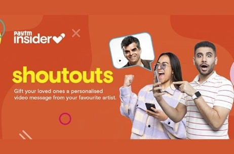 Paytm Insider Partners with OML, Kommune, Wysh, Bandedge to Launch Video Message Feature Shoutouts