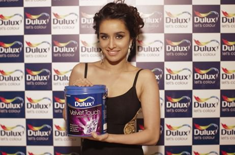 Shraddha Kapoor is the new face of Dulux Paints