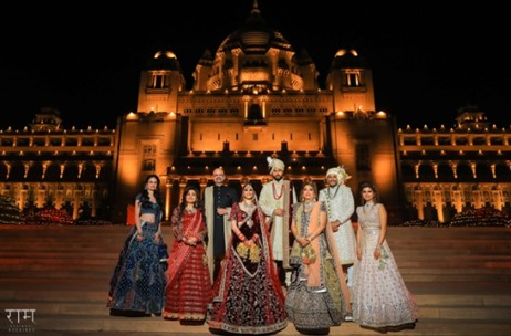 A Larger than Life Wedding in Jodhpur Picturesquely Captured by Ram Bherwani Weddings