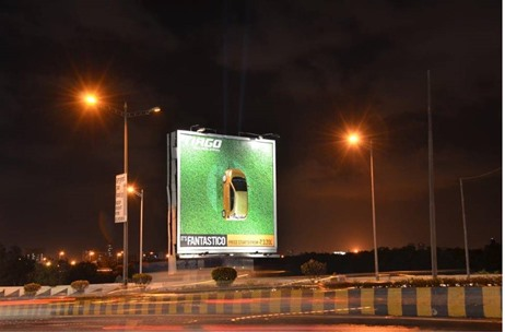 Platinum Outdoor Creates Cross-Media Innovation In Mumbai For Tata Motor's Tiago