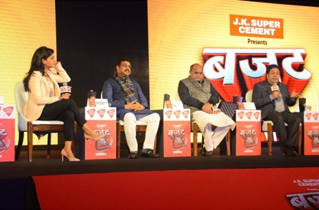 Wishmakers Executes the Stellar Production of Televised Show 'Budget' for Aaj Tak