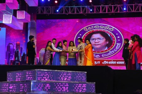 Percept Activ Executes 'Sun Natchatra Thiruvizha' Event in Coimbatore for Sun TV