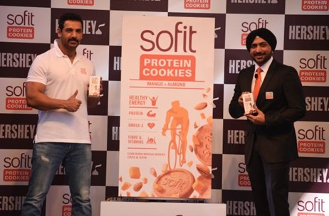 Hershey India's  Launch its Sofit Protein Cookies - Conceptualised by Vibgyor