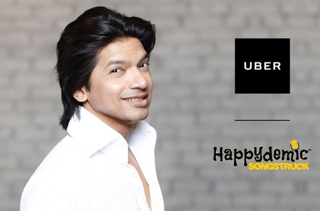 Uber Celebrates Rakshabandhan with Sibling Singers Sagarika and Shaan