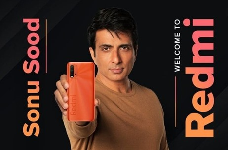 Actor and Real-life Hero Sonu Sood is Brand Ambassador for Redmi India Smartphones