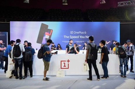 OnePlus 6 Launch Executed By 70 EMG At NSCI Dome
