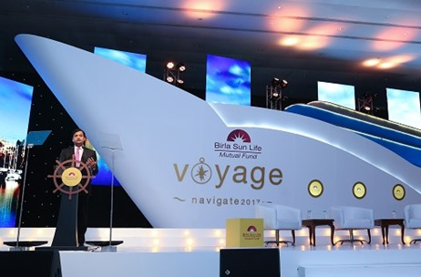 Fountainhead Puts the Wind in the Sails of Birla Sun Life AMC's Annual Distributor Meet, 'Voyage'