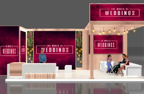 Virtual Wedding Fair 'The World of Weddings' a Big Success; Close to 2,000 Attendees Over 3 Days
