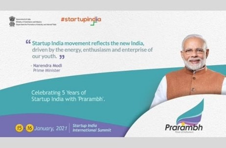 Two-day Prarambh Summit on January 15-16 Set to Celebrate Five Years of the Startup India Initiative