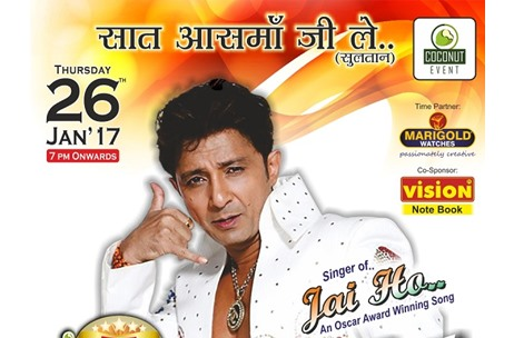 Coconut Event Ropes in Sukhwinder Singh for a Stellar LIVE Concert in Ahmedabad