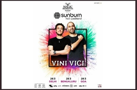 Percept Announces 'Sunburn Holi Weekend 2021' Across Delhi, Bengaluru and Goa on March 26, 28 and 29