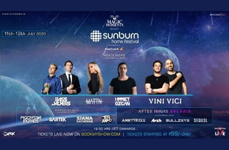 Percept Unveils India's First Virtual Music Festival - 'Sunburn Home Festival'
