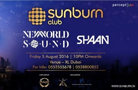 Aussie Duo 'New World Sound' & DJ Shaan to Get Sunburn Dubai Going!