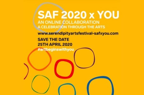 Serendipity Arts Festival Launches a New Digital Experience: SAF 2020 x You Amidst COVID-19