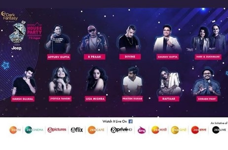 Zee Live Announces Line-up for Supermoon House Party on 7th and 8th August