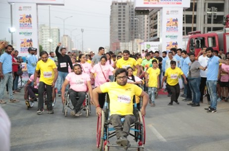 Surat Night Marathon Supports Noble Causes; Organised by Destiny Group