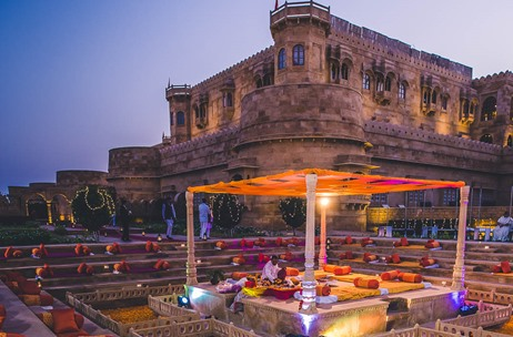 Ramit Batra Captures a Spectacular Wedding at Suryagarh, Jaisalmer!