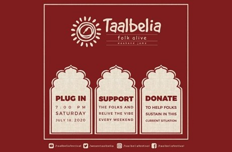 Event Crafter Champions Folk Musicians, Channels Donations with Taalbelia Weekend Jams