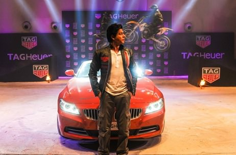 SRK celebrates the 'Don't Crack Under Pressure' motto with Tag Heuer