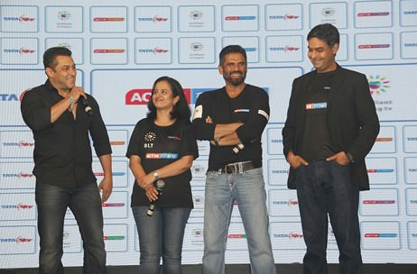 Salman Khan launches Tata Sky's Health & Fitness Service in Mumbai