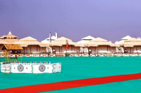 Fully Sanitised 'Tent City-Kutch' Gets Ready to Host Tourists at the White Rann from November 12