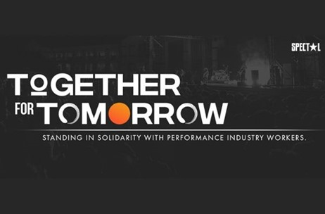 Spectal Management Launches 'Together For Tomorrow' to Fund Non-salaried Live Event Workers