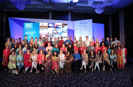 7th Brand USA India Travel Mission Sees Largest Ever Delegation of 42 Tourism Organizations