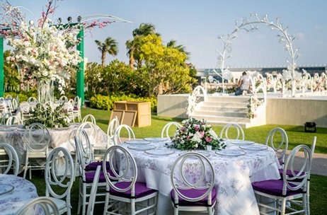 Four Seasons Bahrain Bay Decked Beautifully for A Spectacular Wedding by Milestones to Memories