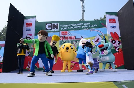 SALT Hosts 6000 Kids And Parents At The Cartoon Network GoActive Bootcamp