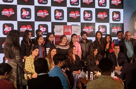 Think Events Took-On ALTBalaji's 'KKHH' Cast Meet with the Press