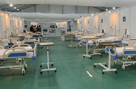 Third Wave Services Powers Temporary Hospitals in Delhi and Guwahati