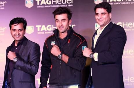 Tag Heuer unveils new campaign, 'Don't Crack Under Pressure' with Ranbir Kapoor