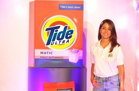 Hina Khan Launches The All-New Tide Ultra, Takes The #TideUltraRapChallenge