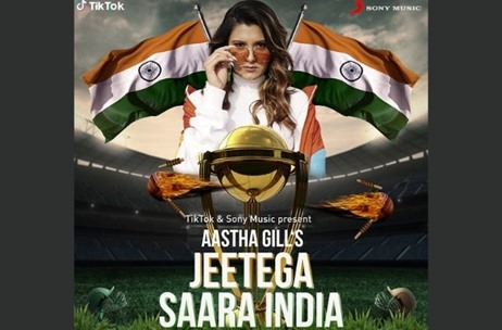 TikTok collaborates with Sony Music artist Aastha to create the TikTok World Cup Anthem